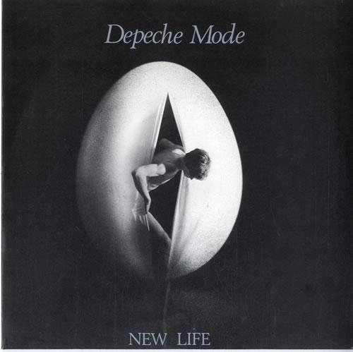 "Depeche Mode New Life + p/s 7"" vinyl single (7 inch record) UK DEP07NE06884"