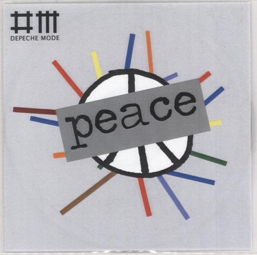Depeche Mode Peace CD-R acetate UK DEPCRPE732561