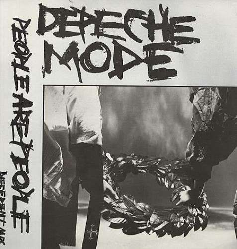 "Depeche Mode People Are People (Different Mix) 12"" vinyl single (12 inch record / Maxi-single) UK DEP12PE09186"