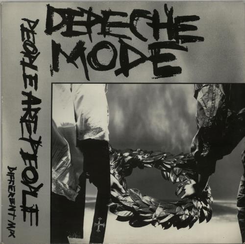 "Depeche Mode People Are People - EX 12"" vinyl single (12 inch record / Maxi-single) UK DEP12PE515982"