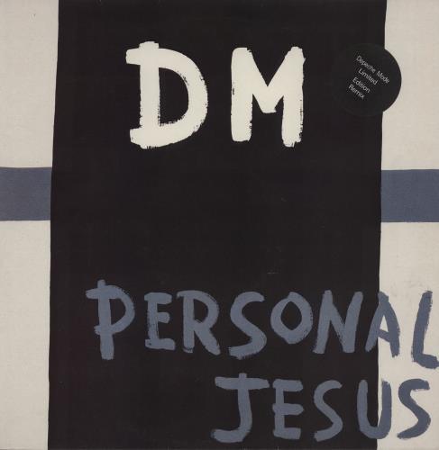 "Depeche Mode Personal Jesus - EX 12"" vinyl single (12 inch record / Maxi-single) UK DEP12PE511618"