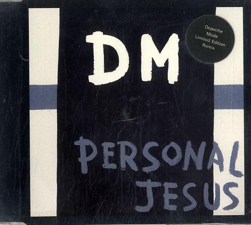 "Depeche Mode Personal Jesus - Remix - EX 3"" CD single (CD3) UK DEPC3PE618047"