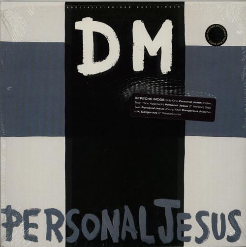 "Depeche Mode Personal Jesus - stickered shrink 12"" vinyl single (12 inch record / Maxi-single) US DEP12PE07883"