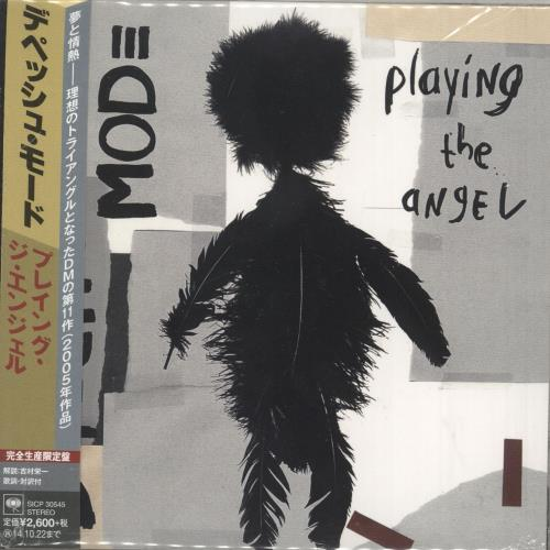 Depeche Mode Playing The Angel + Obi Blu-Spec CD Japanese DEPBSPL696270