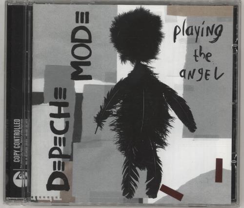 Depeche Mode Playing The Angel CD album (CDLP) Dutch DEPCDPL744855