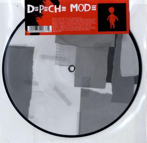 "Depeche Mode Precious 7"" vinyl picture disc 7 inch picture disc single UK DEP7PPR381583"