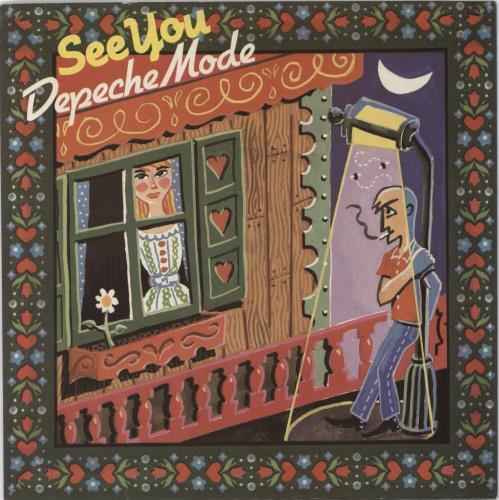 "Depeche Mode See You 7"" vinyl single (7 inch record) UK DEP07SE06883"