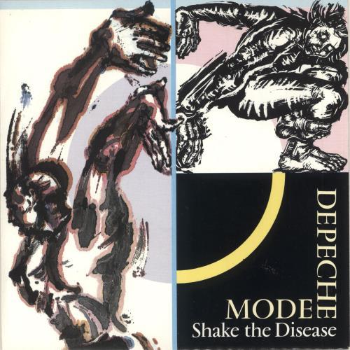 "Depeche Mode Shake The Disease - Wide Centre 7"" vinyl single (7 inch record) UK DEP07SH746457"
