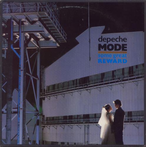 Depeche Mode Some Great Reward - EX vinyl LP album (LP record) UK DEPLPSO704345