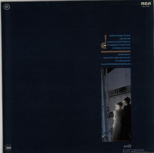Depeche Mode Some Great Reward vinyl LP album (LP record) Spanish DEPLPSO396176