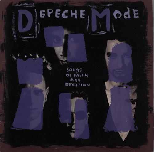 Depeche Mode Songs Of Faith And Devotion - VG vinyl LP album (LP record) UK DEPLPSO631335