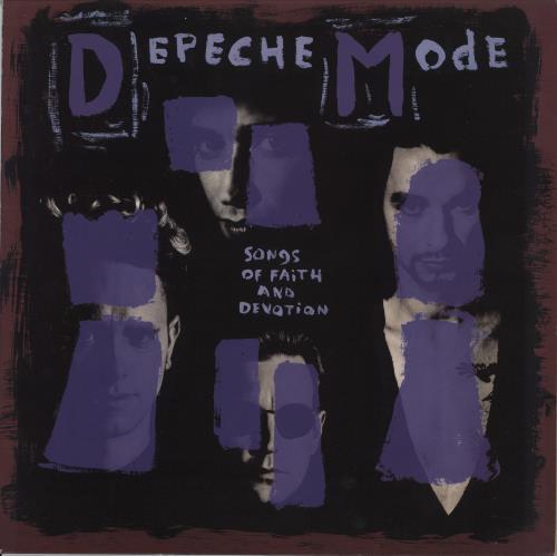 Depeche Mode Songs Of Faith And Devotion vinyl LP album (LP record) UK DEPLPSO258794