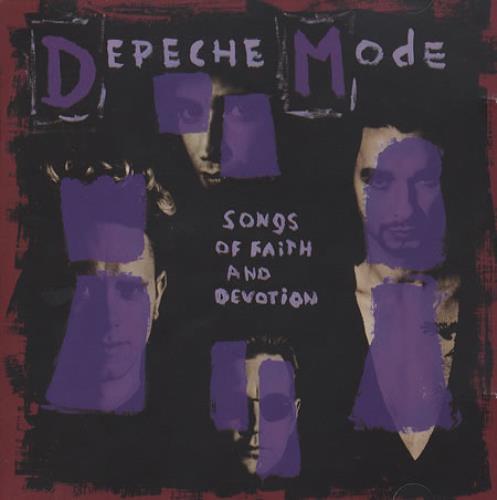 Depeche Mode Songs Of Faith And Devotion French CD album (CDLP) (380761)