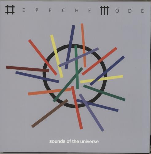 Depeche Mode Sounds Of The Universe - 180gm 2-LP vinyl record set (Double Album) UK DEP2LSO764132