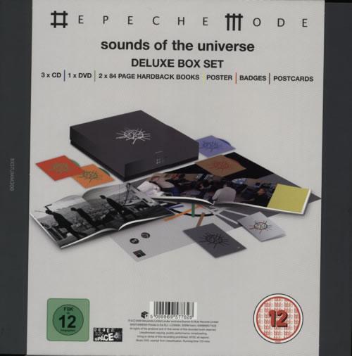 Depeche Mode Sounds Of The Universe box set UK DEPBXSO582274