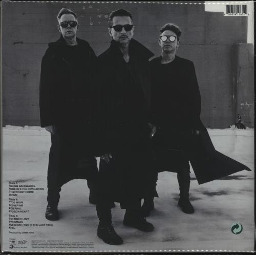Depeche Mode Spirit - 180gram Vinyl + Sealed 2-LP vinyl record set (Double Album) UK DEP2LSP668949
