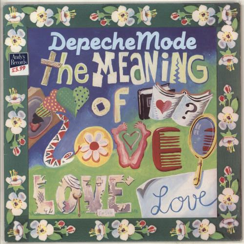 """Depeche Mode The Meaning Of Love - EX 12"""" vinyl single (12 inch record / Maxi-single) UK DEP12TH669731"""
