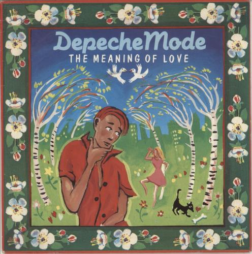 """Depeche Mode The Meaning Of Love - Glossy - Wide 7"""" vinyl single (7 inch record) UK DEP07TH746459"""