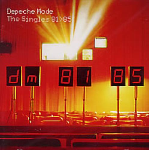 Depeche Mode The Singles 81>85 CD album (CDLP) Colombian DEPCDTH280395