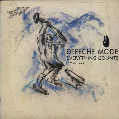 "Depeche Mode Todo Cuenta (Everything Counts) 7"" vinyl single (7 inch record) Spanish DEP07TO92106"
