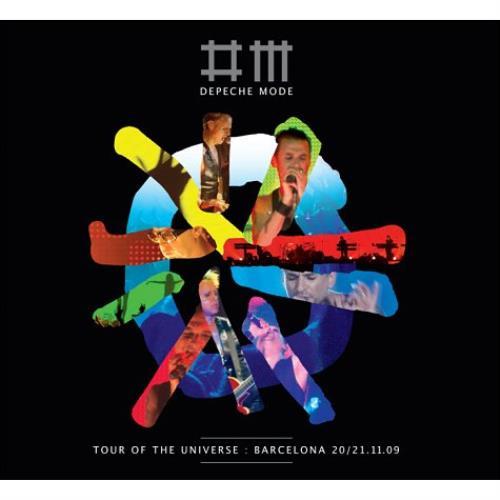 Depeche Mode Tour Of The Universe - Live In Barcelona 3-disc CD/DVD Set UK DEP3DTO520273