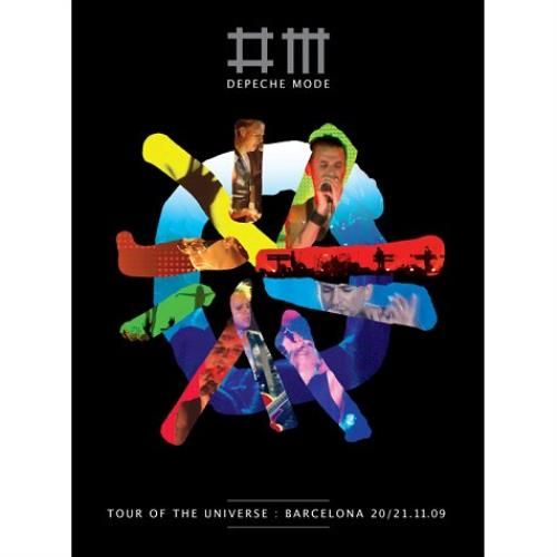Depeche Mode Tour Of The Universe - Live In Barcelona Blu Ray DVD UK DEPBRTO520274