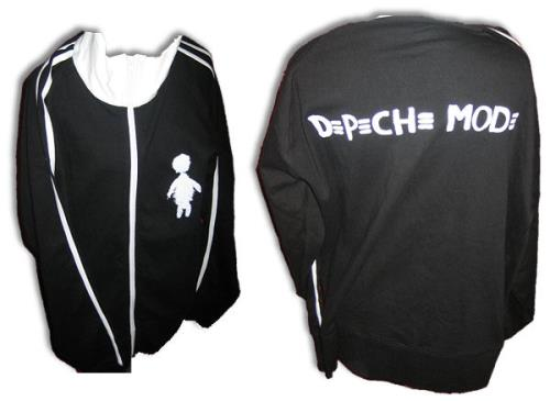 Depeche Mode Touring The Angel [Track Top] - Large clothing US DEPMCTO411058