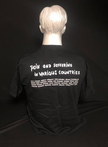 Depeche Mode Touring The Angel - M t-shirt UK DEPTSTO729226