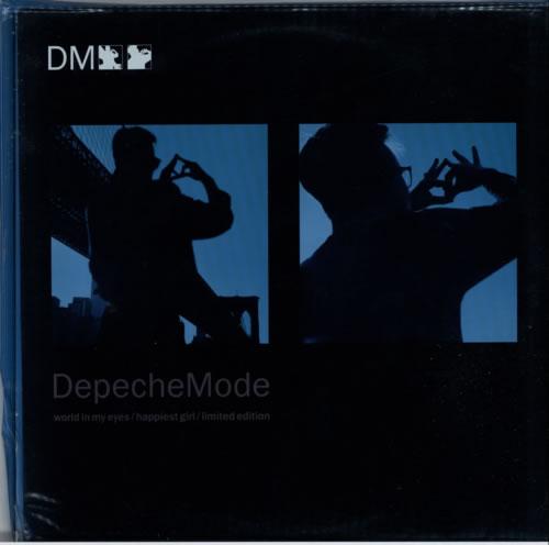 "Depeche Mode World In My Eyes - PVC Sleeve - EX 12"" vinyl single (12 inch record / Maxi-single) UK DEP12WO618049"