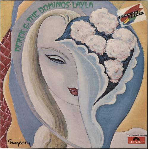 Derek And The Dominos Layla And Other Assorted Love Songs 2-LP vinyl record set (Double Album) German D&D2LLA726742