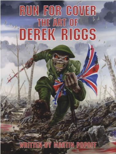 Derek Riggs Run For Cover: The Art Of Derek Riggs - Autographed book UK DZSBKRU399655