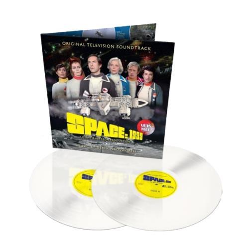 Derek Wadsworth Space: 1999 Year Two - Lunar White Vinyl 2-LP vinyl record set (Double Album) UK 34Z2LSP774798