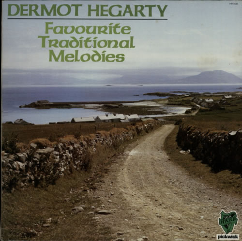 Dermot Hegarty Favourite Traditional Melodies vinyl LP album (LP record) Irish F0VLPFA608110