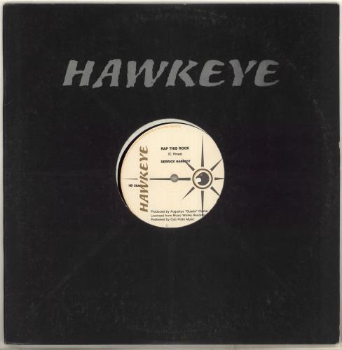 "Derrick Harriott Rap This Rock 12"" vinyl single (12 inch record / Maxi-single) UK DT112RA715996"