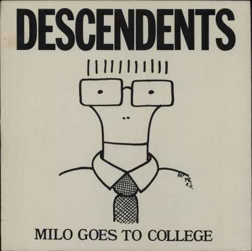 Descendents Milo Goes To College vinyl LP album (LP record) US DECLPMI756848