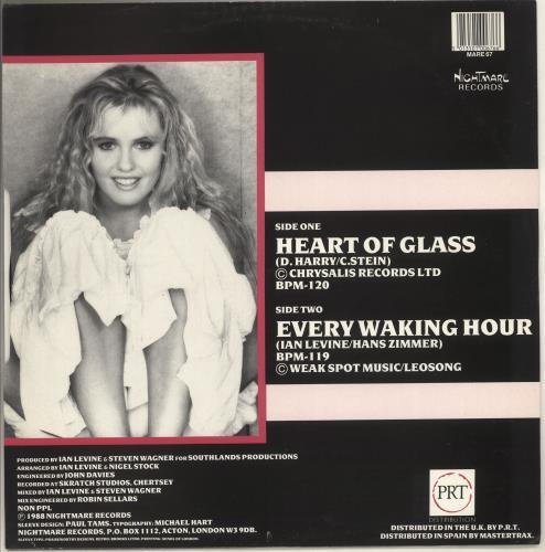 "Desiderata Heart Of Glass 12"" vinyl single (12 inch record / Maxi-single) UK Z9412HE725968"