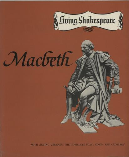 Desmond Leslie Macbeth vinyl LP album (LP record) UK IHWLPMA653559