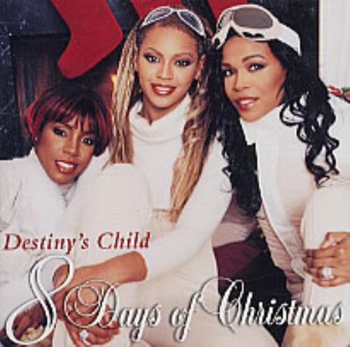 Destiny's Child 8 Days Of Christmas CD album (CDLP) Japanese DCHCDDA196917