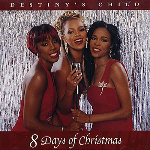 "Destiny's Child 8 Days Of Christmas CD single (CD5 / 5"") US DCHC5DA201964"