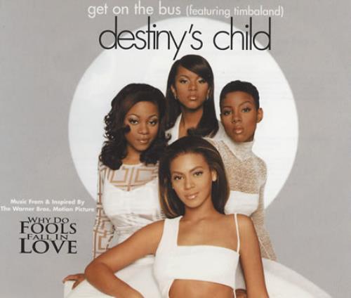 "Destiny's Child Get On The Bus CD single (CD5 / 5"") UK DCHC5GE177153"