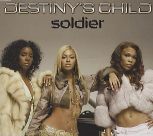 "Destiny's Child Soldier CD single (CD5 / 5"") Austrian DCHC5SO313551"
