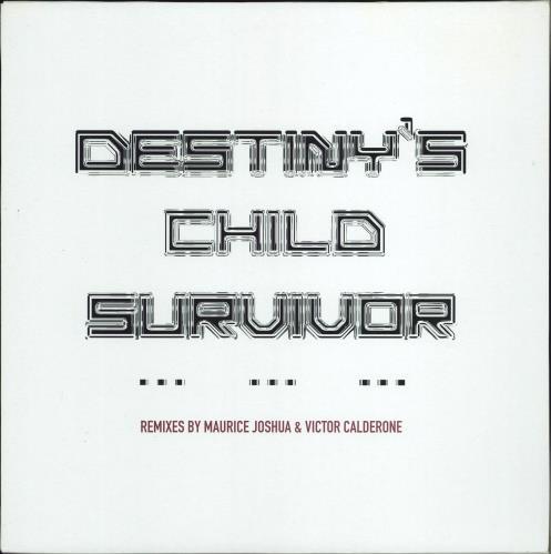 "Destiny's Child Survivor - dble pack 12"" vinyl single (12 inch record / Maxi-single) UK DCH12SU183594"