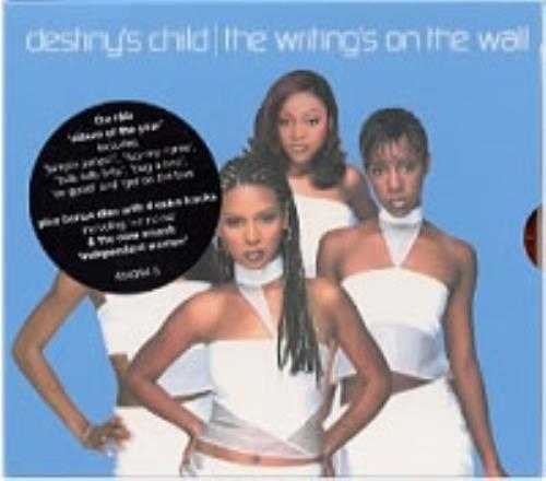 Destiny's Child The Writing's On The Wall 2 CD album set (Double CD) UK DCH2CTH170648