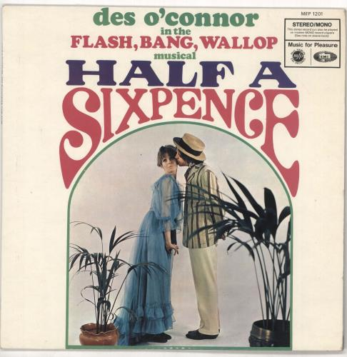 Des O'Connor Half A Sixpence vinyl LP album (LP record) UK DSOLPHA721153