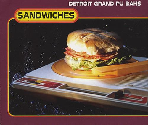 "Detroit Grand Pu Bahs Sandwiches CD single (CD5 / 5"") UK DGPC5SA382670"