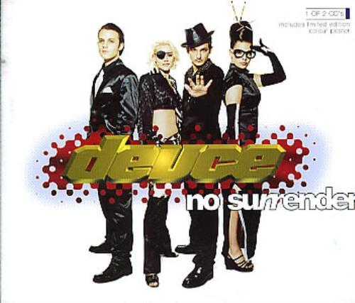 "Deuce No Surrender CD single (CD5 / 5"") UK DEUC5NO295710"