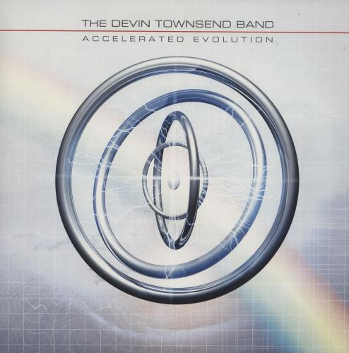 Devin Townsend Accelerated Evolution - Clear Vinyl 2-LP vinyl record set (Double Album) UK DVW2LAC753394