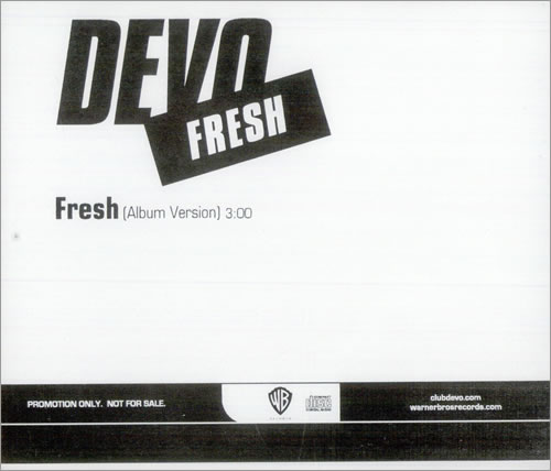 "Devo Fresh CD single (CD5 / 5"") US DVOC5FR509642"