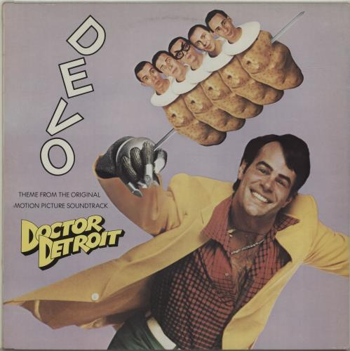 "Devo Theme From Doctor Detroit 12"" vinyl single (12 inch record / Maxi-single) UK DVO12TH652911"