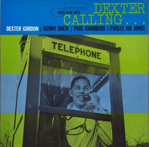 Dexter Gordon Dexter Calling - New York USA vinyl LP album (LP record) US DD9LPDE591048